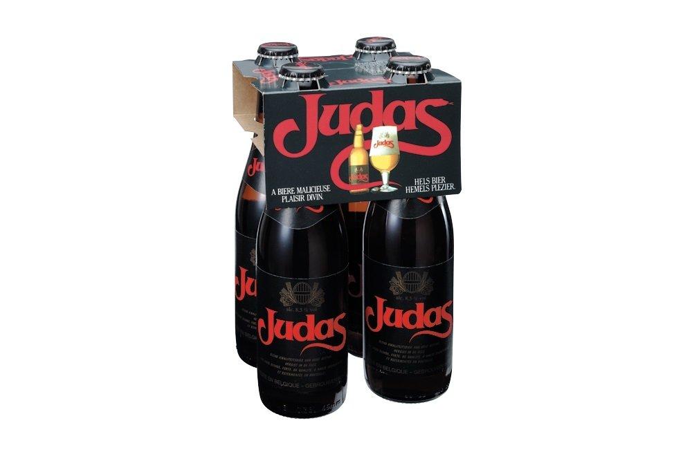 Judas, la cerveza rubia belga más traicionera