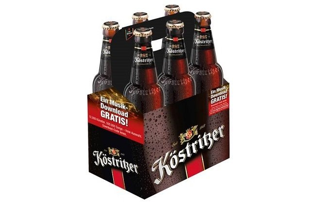 Pack de botellas de Köstritzer