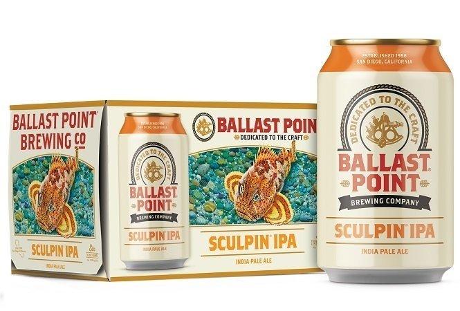 Pack de latas de Sculpin IPA