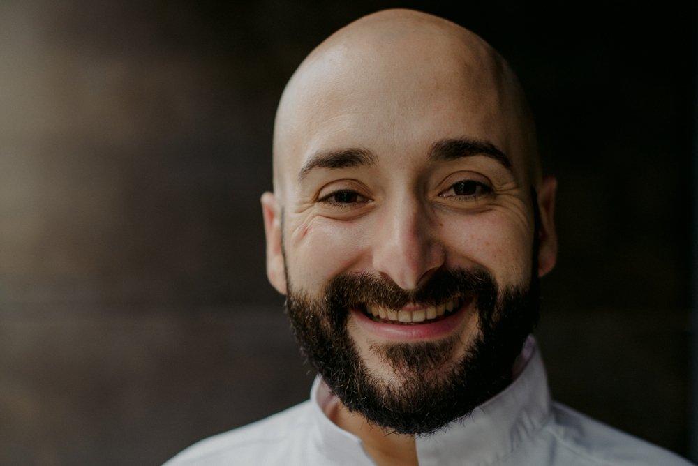 Paquito Marí, chef del restaurante Kanròs