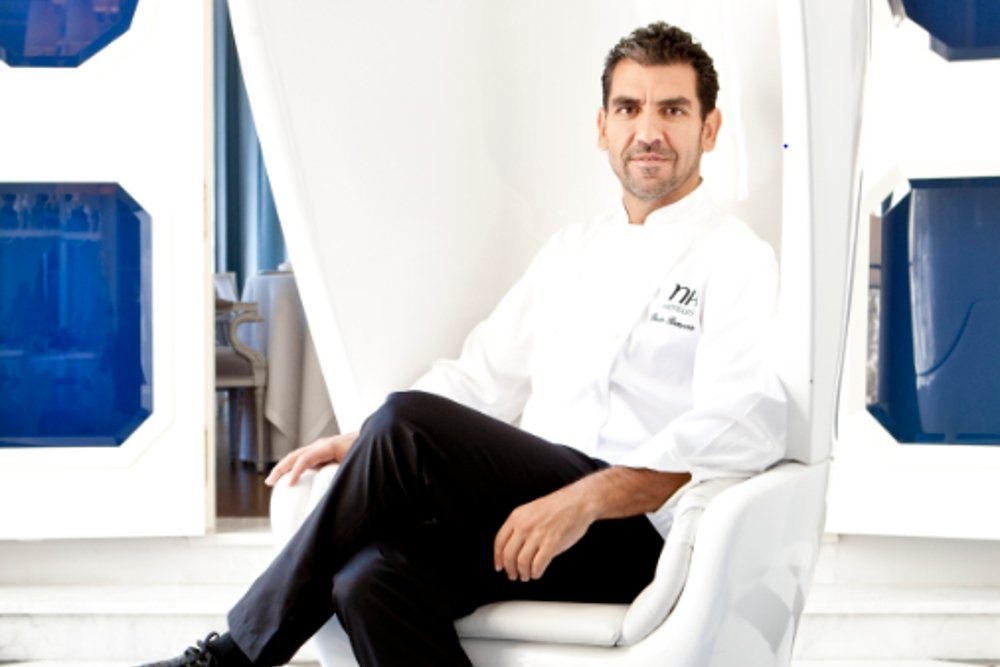 Paco Roncero, el cocinero imbatible
