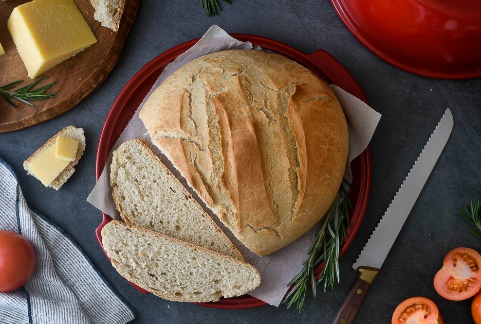 Foto del pan casero fácil y rápido