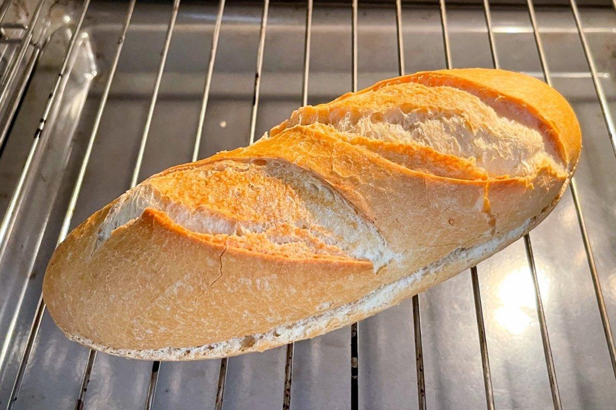 Pan en el horno para bocadilllo Po'boy