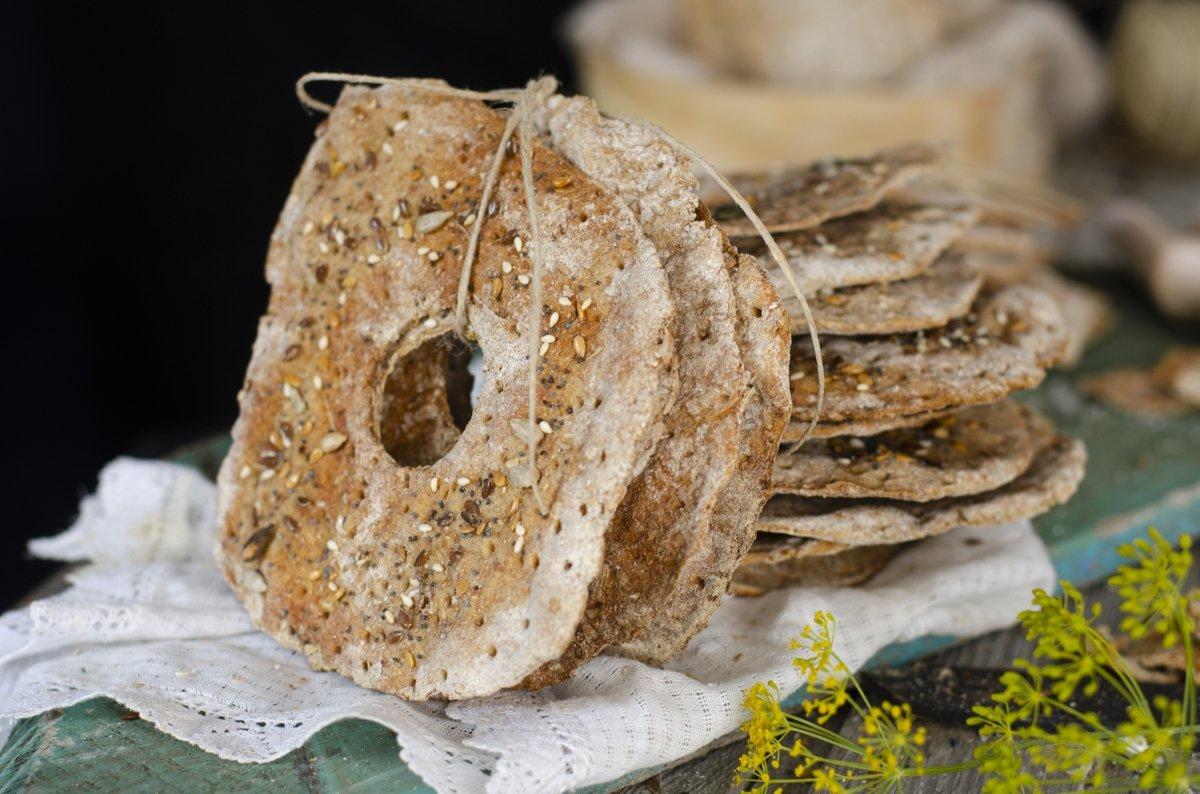 Pan sueco crujiente