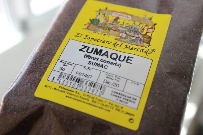 Paquete de sumak o zumaque