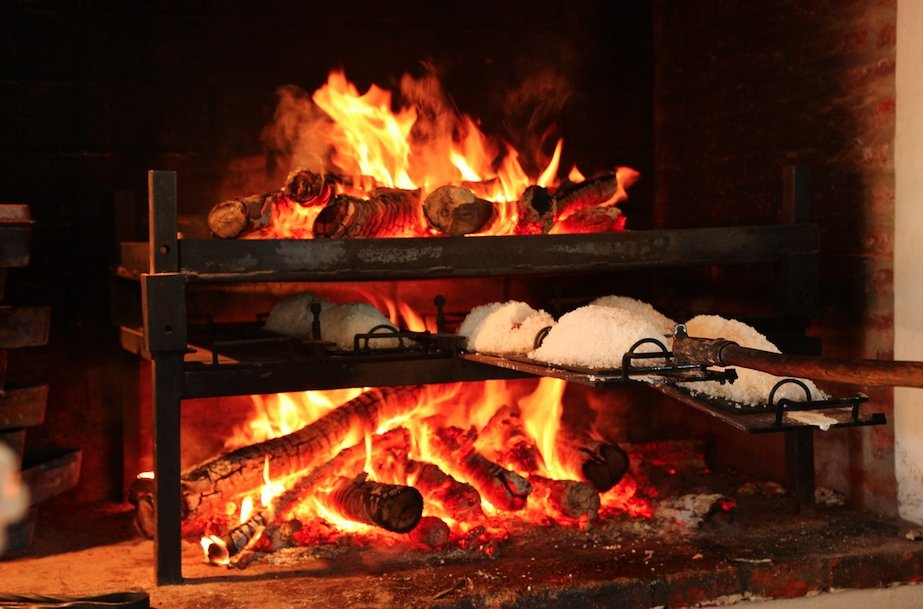 Parrilla u horno del restaurante Patagonia Sur de Francis Mallmann