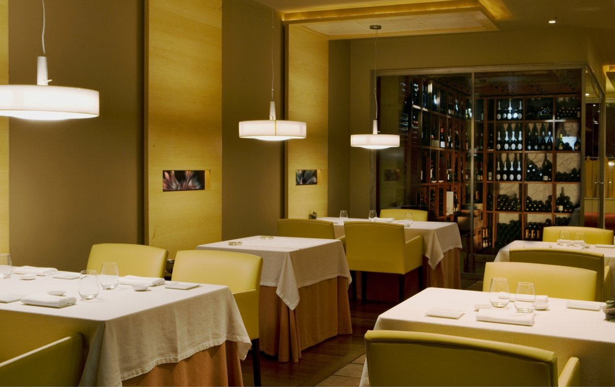 Parte de la sala del restaurante Alejandro