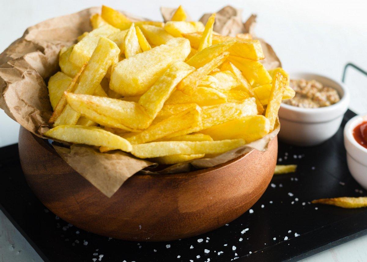 Patatas fritas perfectas