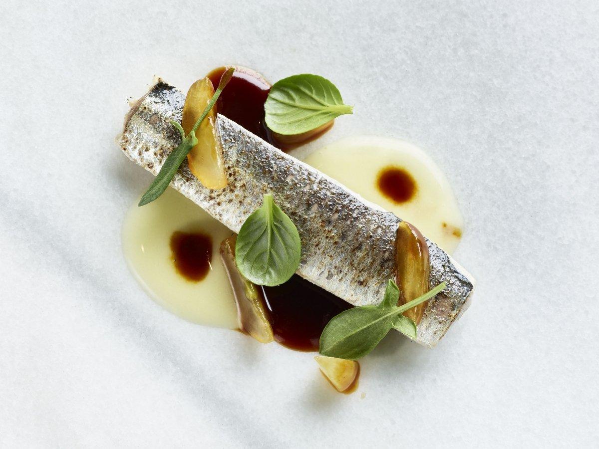 Perdiz con sardina en el restaurante Iván Cerdeño