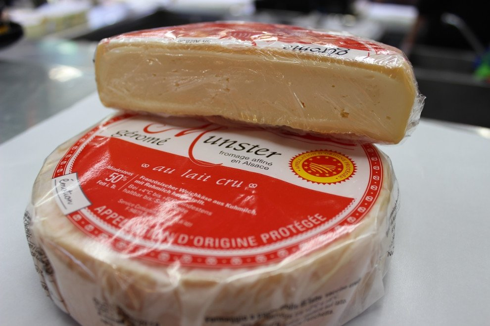Munster, queso fuerte, dulce y medieval