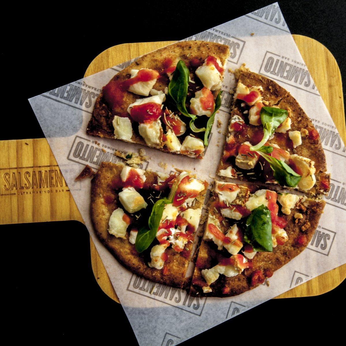 Pizza Inés Rosales de Salsamento