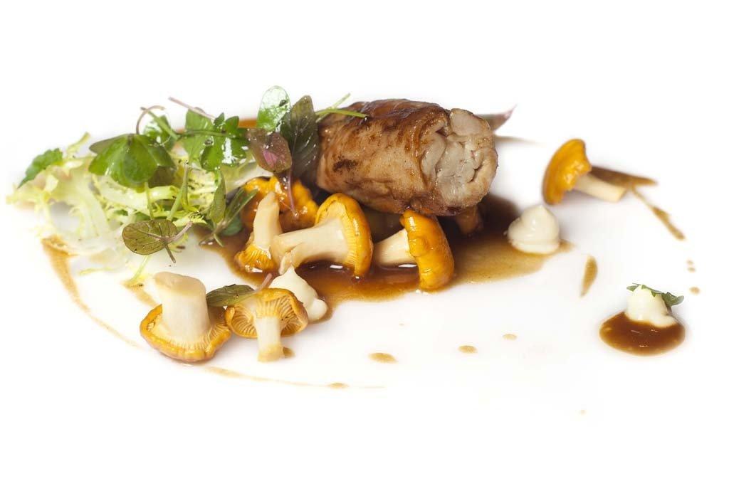 Plato de carne del restaurante Maruja Limón