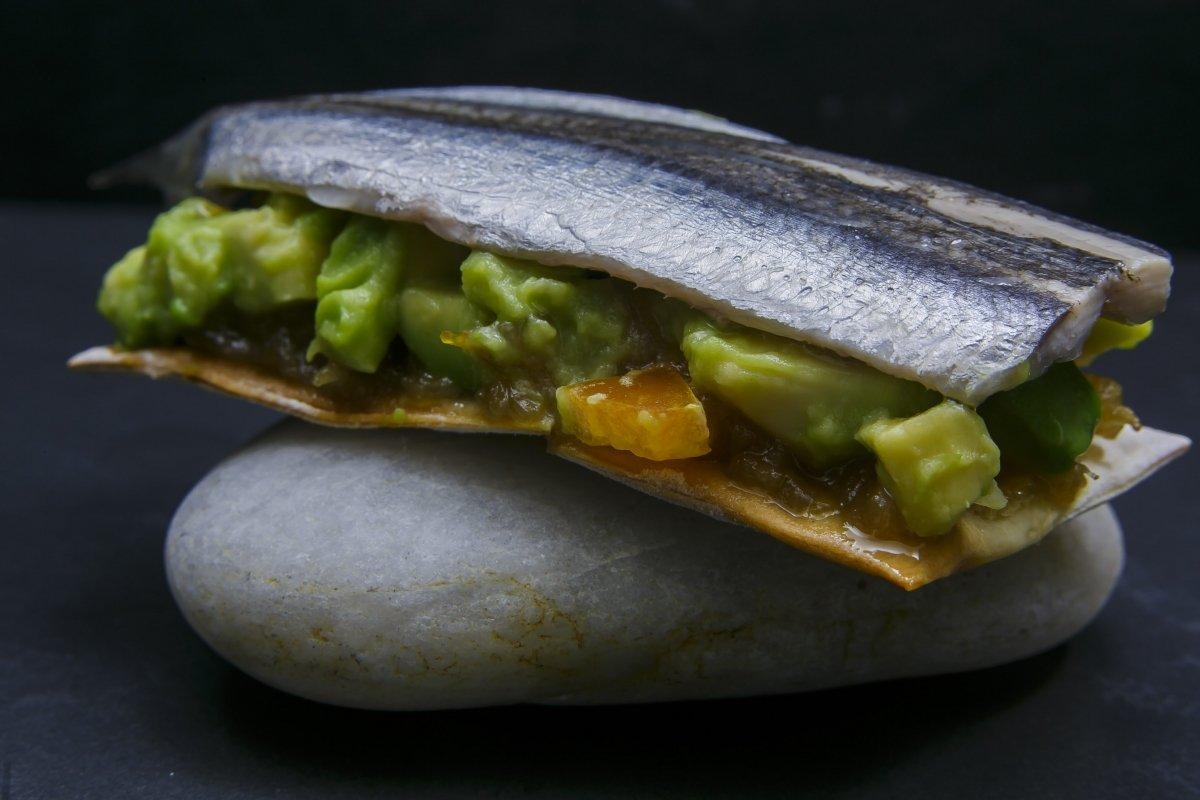 Plato de mar del restaurante Abantal