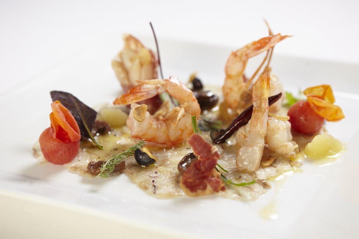 Plato de marisco del restaurante Es Ventall