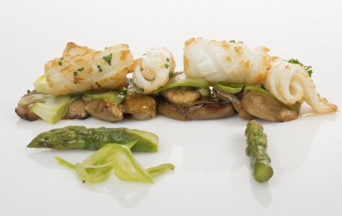 Plato de pescado del Restaurante Europa