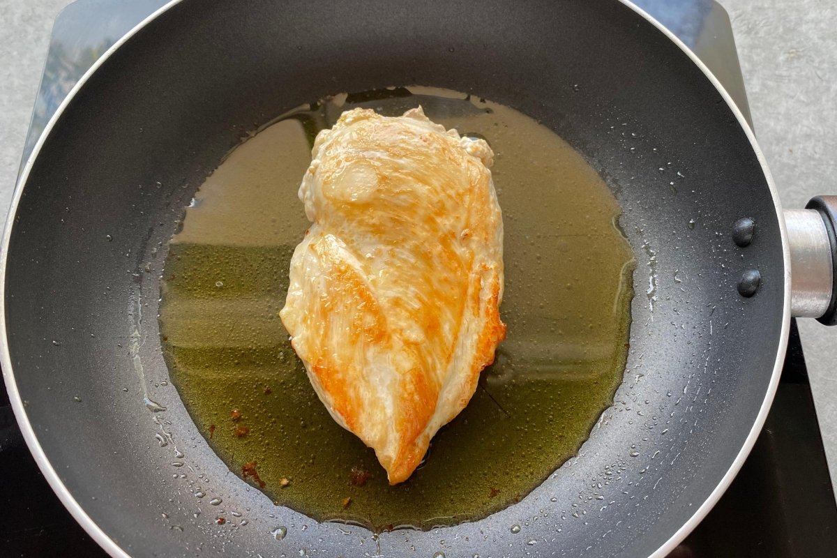 Pollo para el risotto