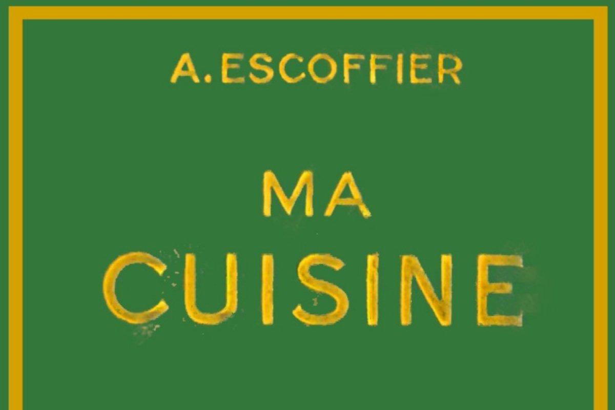 Portada del libro 'Mi cocina' de Georges Auguste Escoffier
