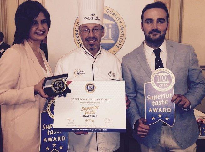Premio a la mejor cerveza del mundo a Gastro en 2016