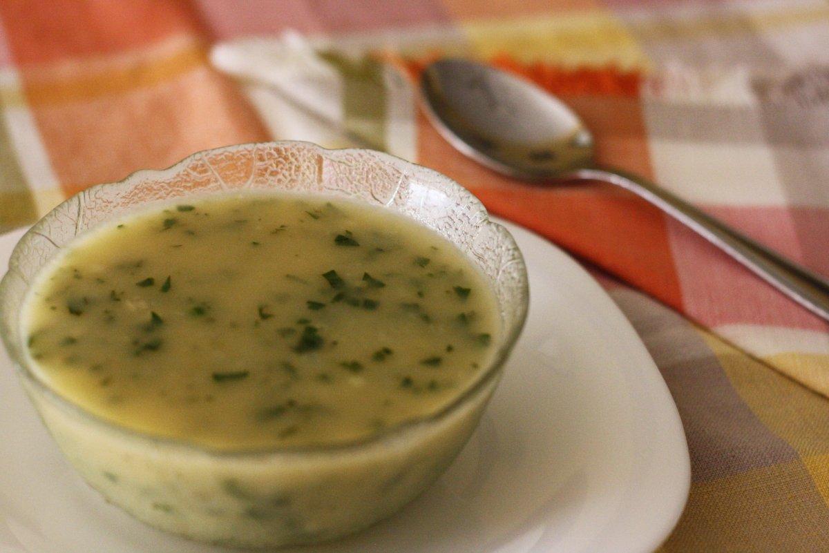 Presentación de la salsa verde