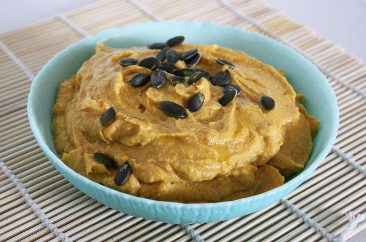 Hummus de calabaza asada