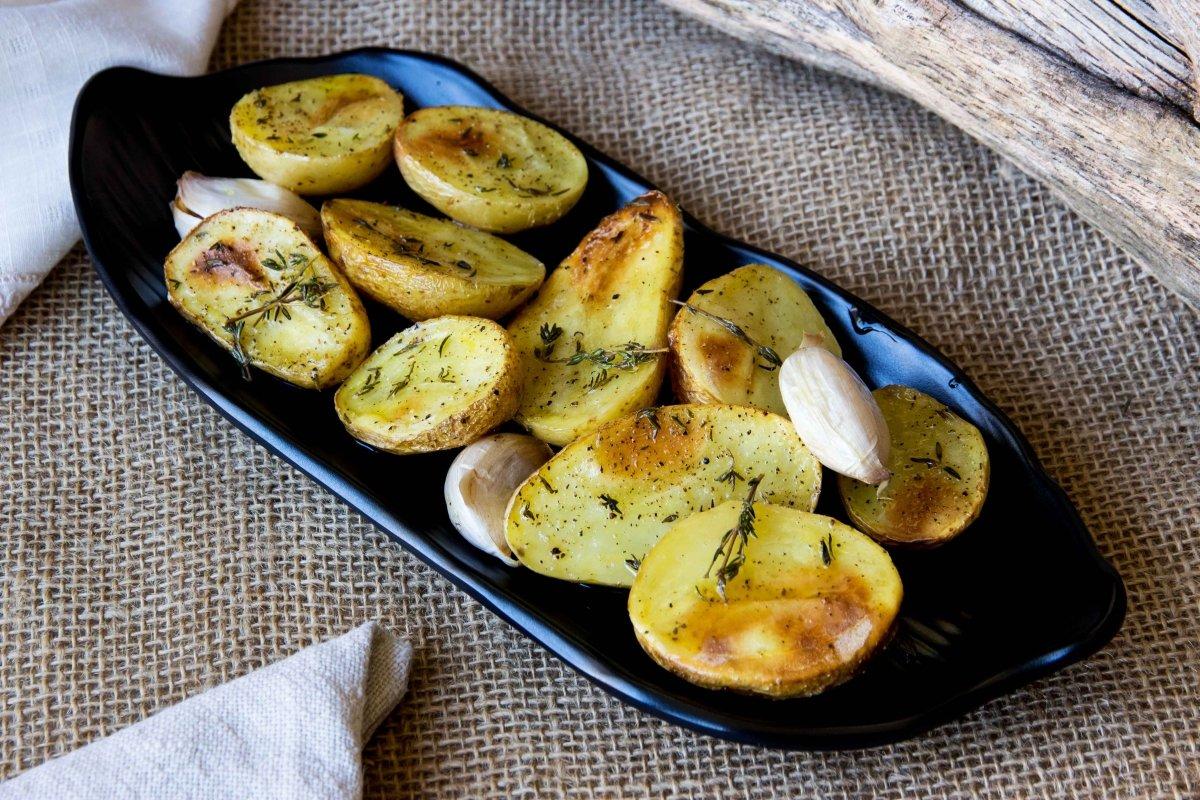Patatas al horno o asadas