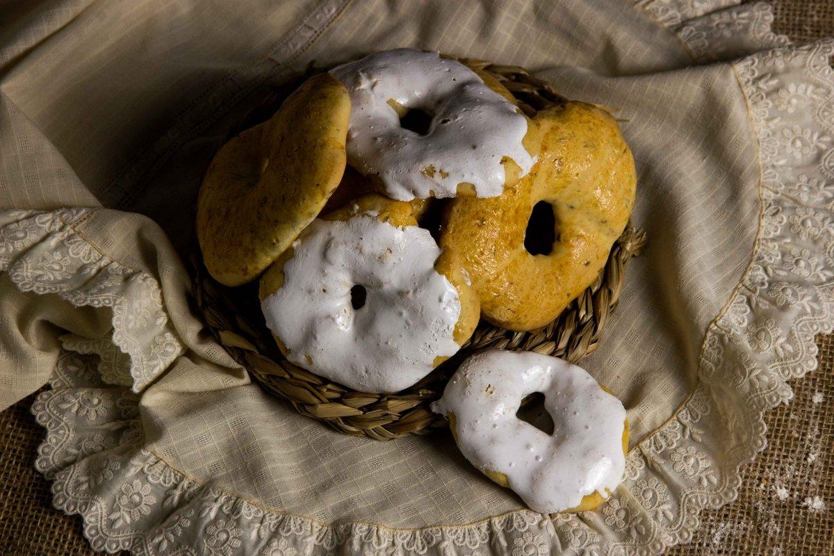 Presentación final de las rosquillas de San Isidro