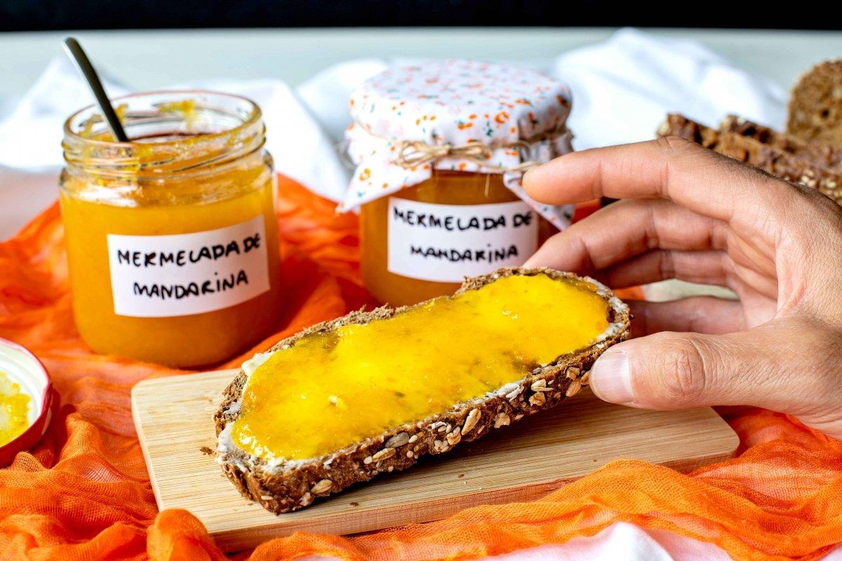 Presentación final extra de la mermelada de mandarina