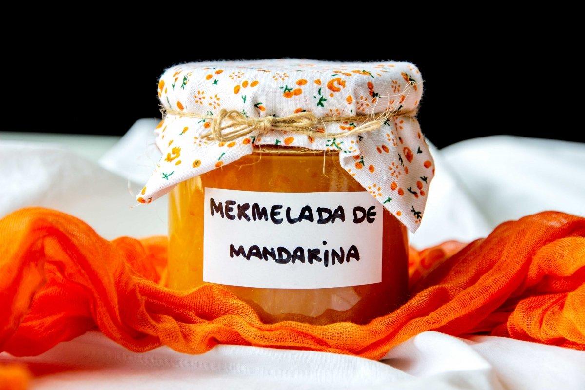 Presentación principal de la mermelada de mandarina