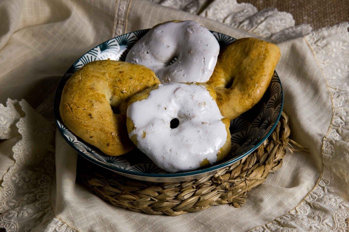 Presentación principal de las rosquillas de San Isidro
