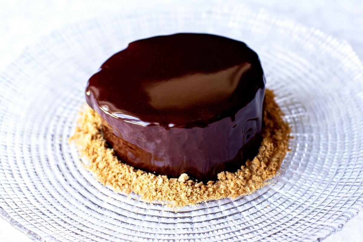 Glaseado espejo de chocolate