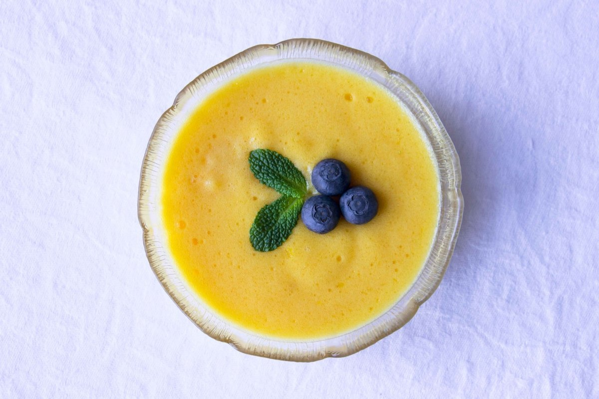 Mousse de mango