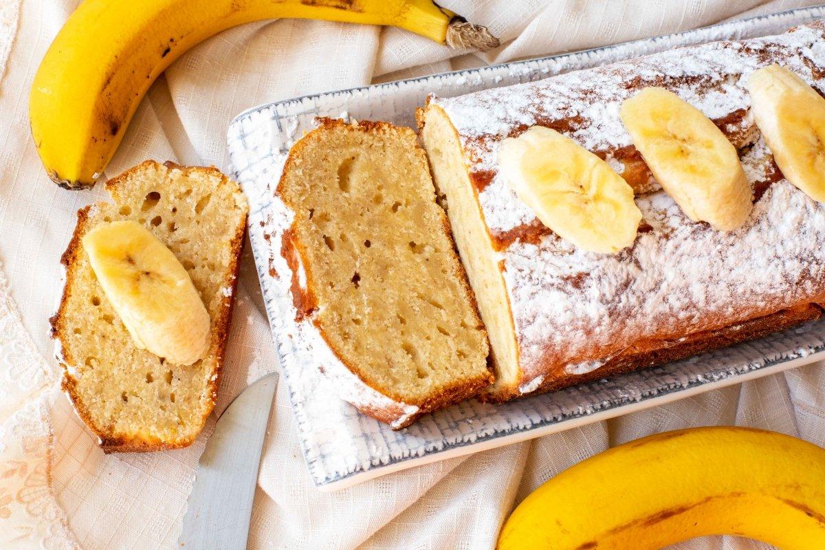 Plum-cake de plátano