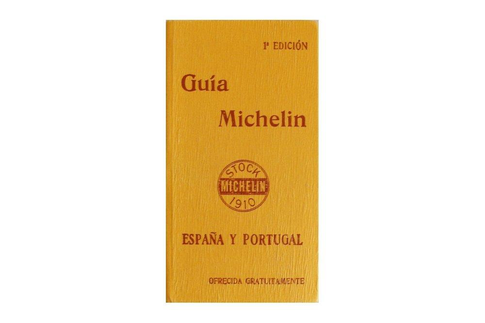 Primera edición de la guía Michelin España y Portugal de 1910