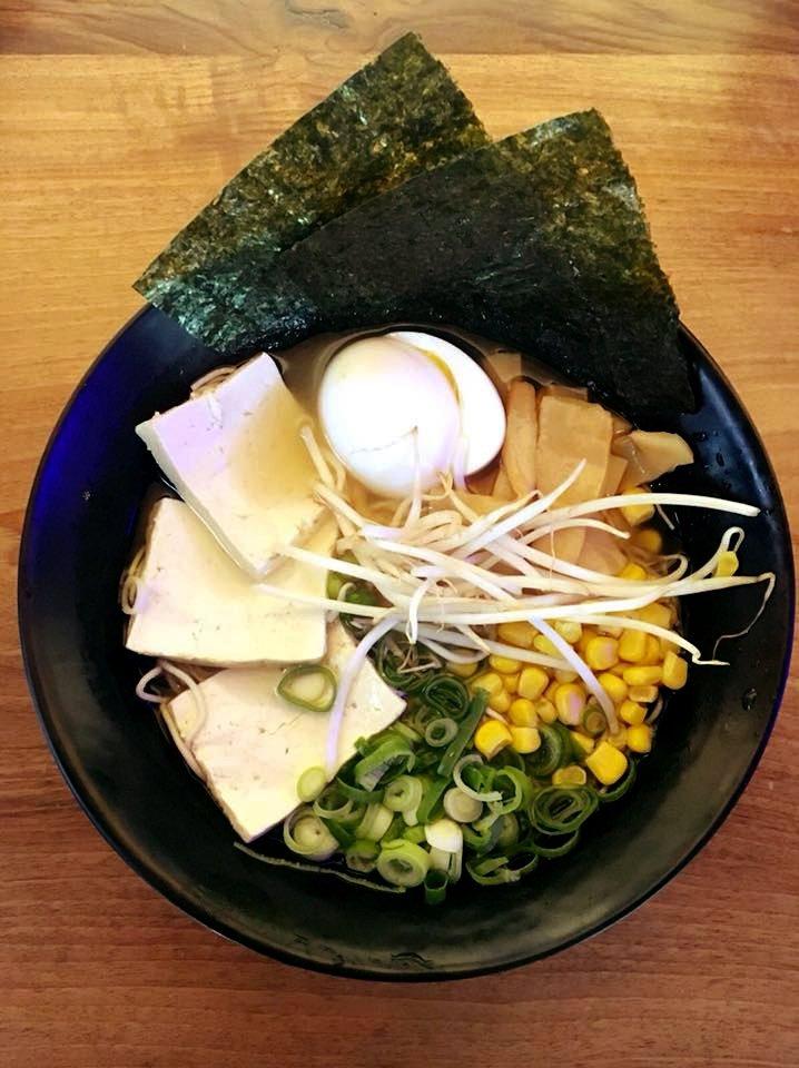 Ramen con tofu en Oh! Taku