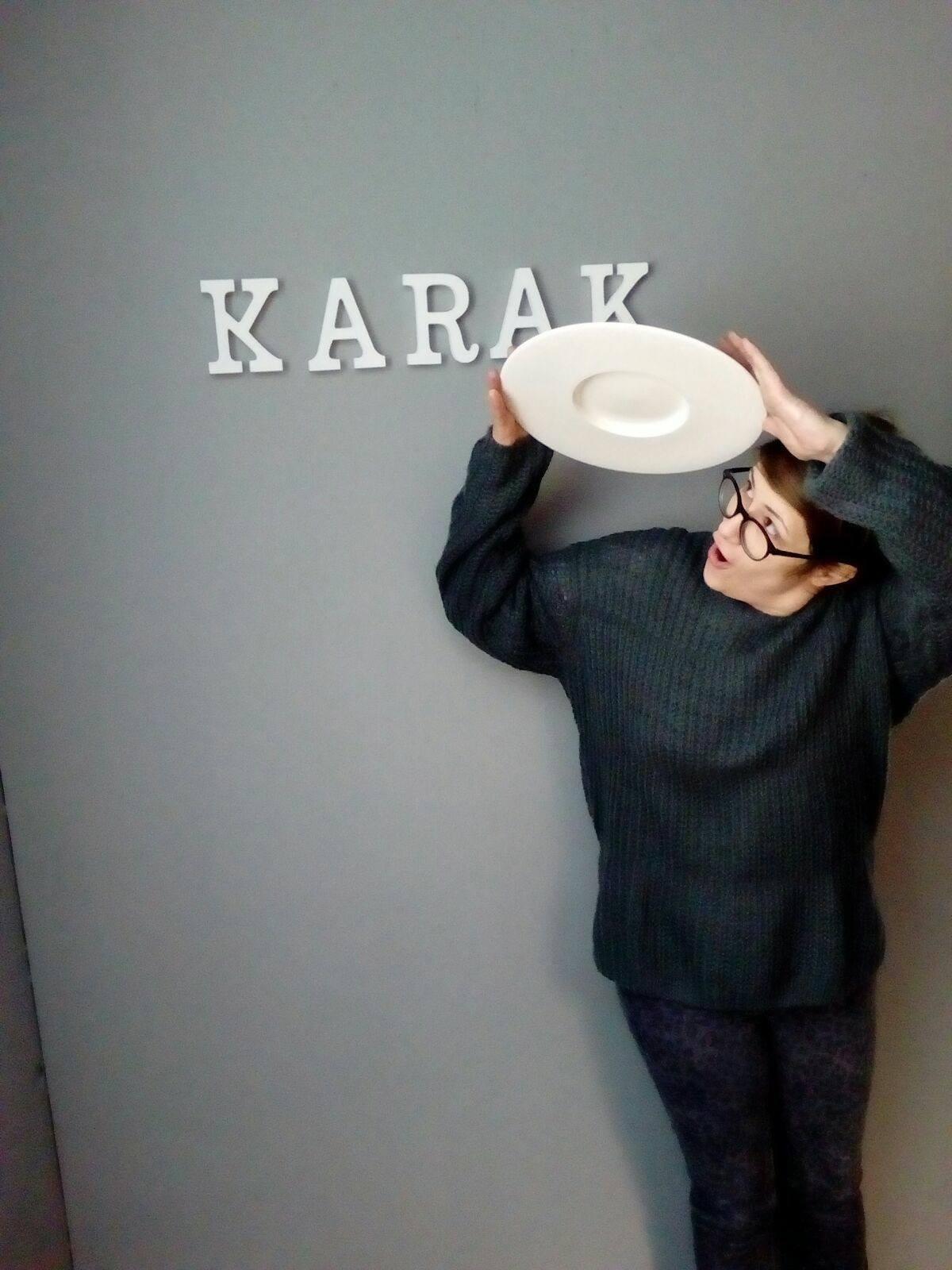 Raquel Cernicharo, al frente de Karak