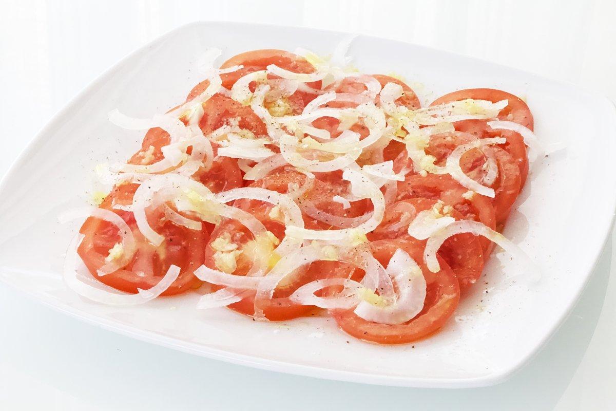 Receta de la ensalada de tomate
