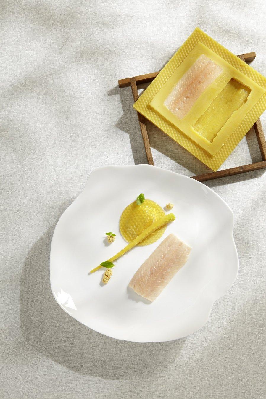 Receta de pescado y pasta en el restaurante Steirereck