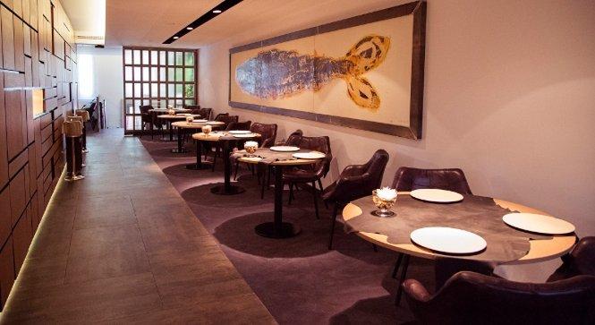 Una imagen del restaurant Sergi Arola.