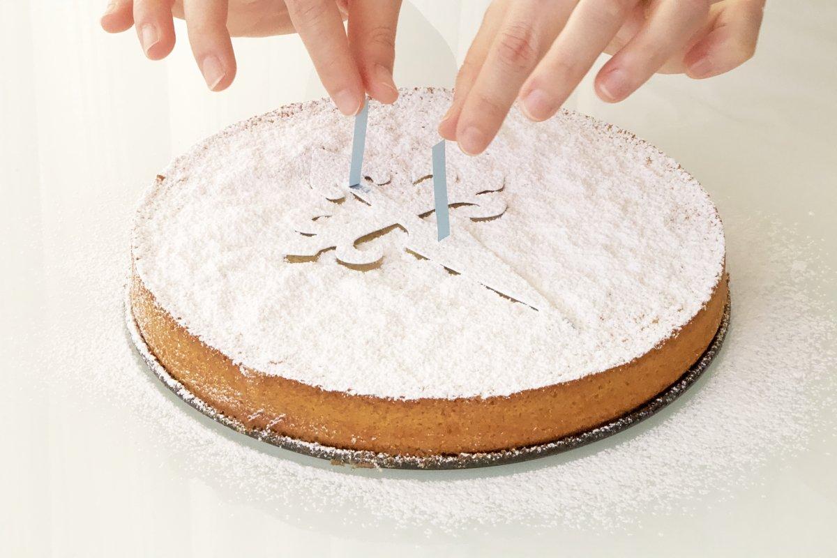 Retirar la cruz de la tarta