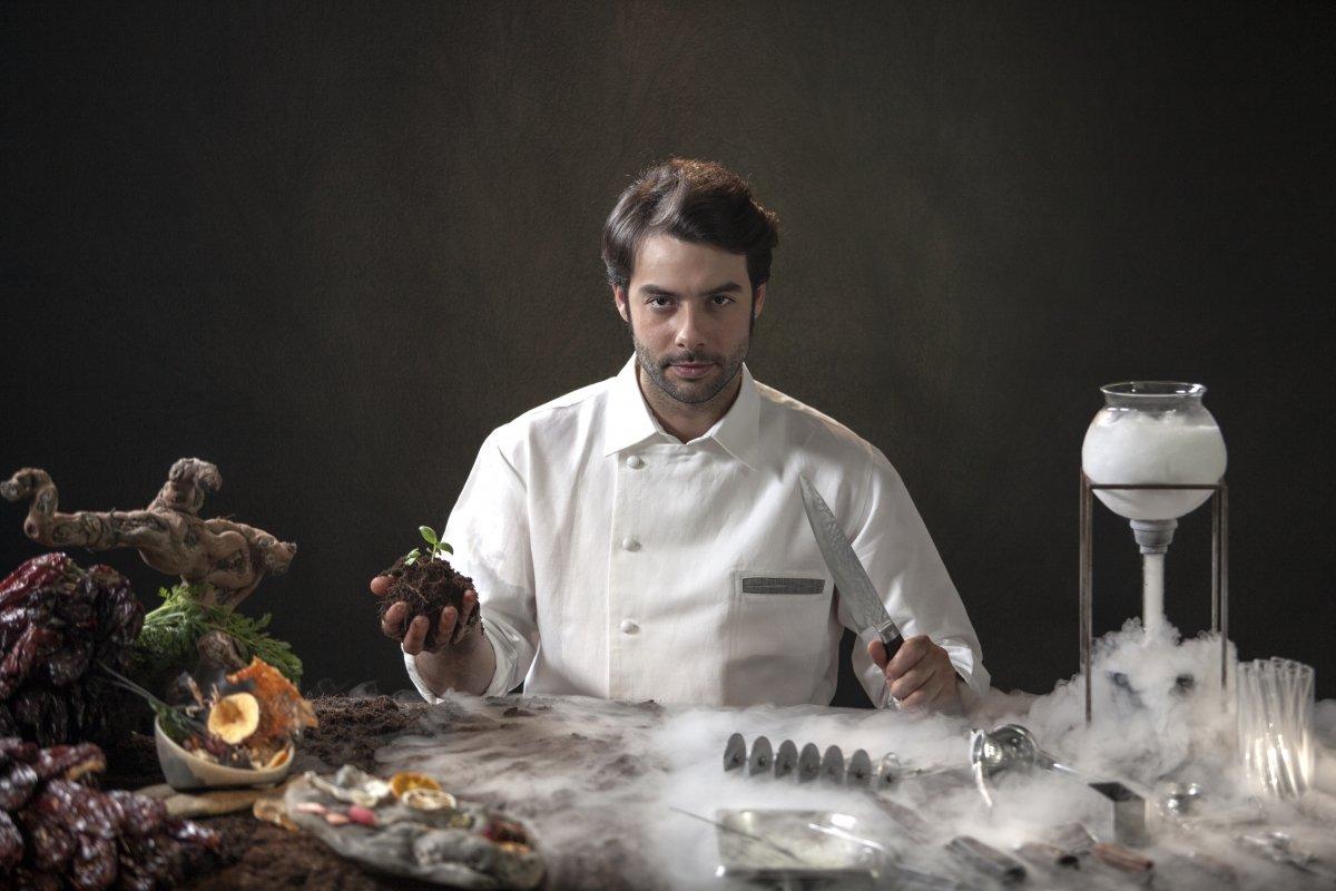 Javier Aranda, un cocinero precoz