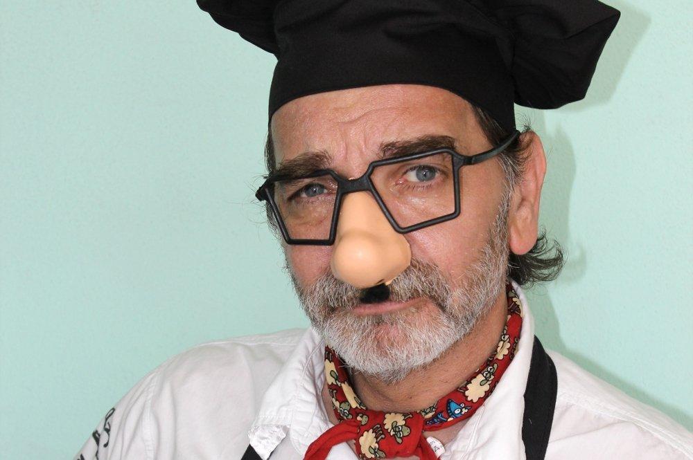 Retrato de Falsarius Chef, Nacho Moreno