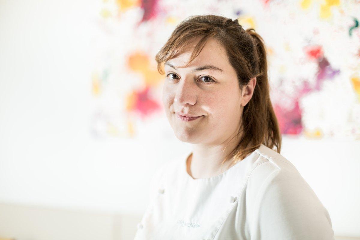 Retrato de la chef María José Martínez