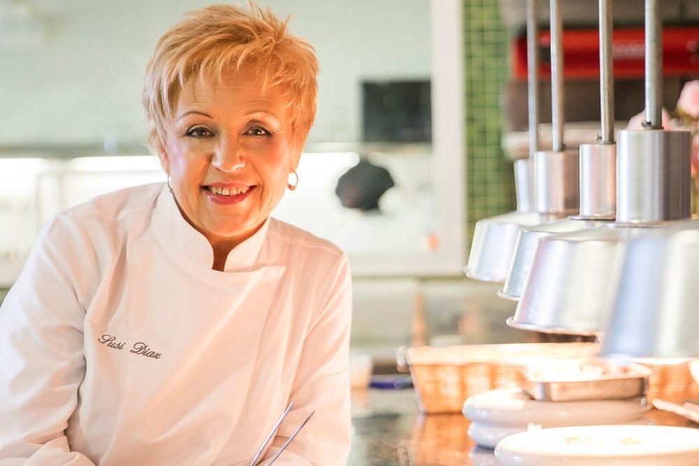 Retrato de la chef Susi Díaz