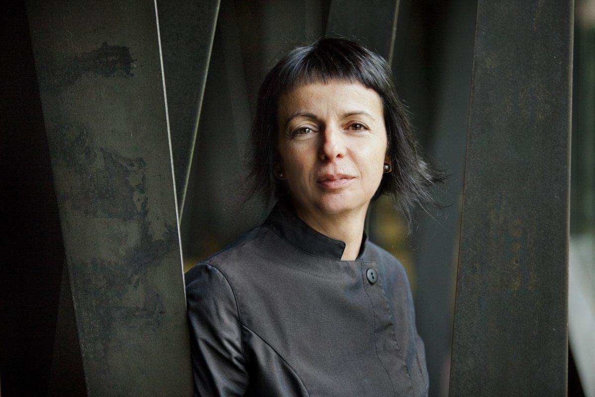 Retrato de la cocinera catalana Fina Puigdevall
