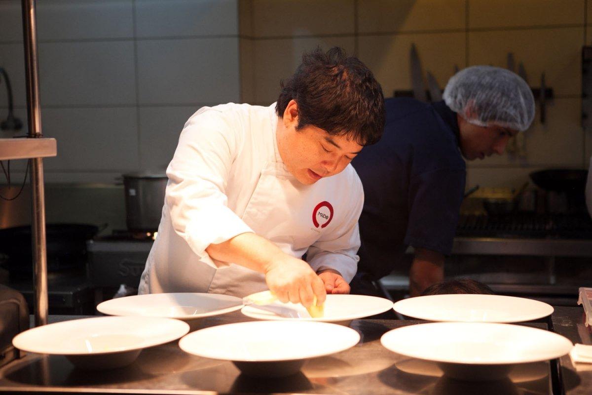 Retrato de Mitsuharu Tsumura