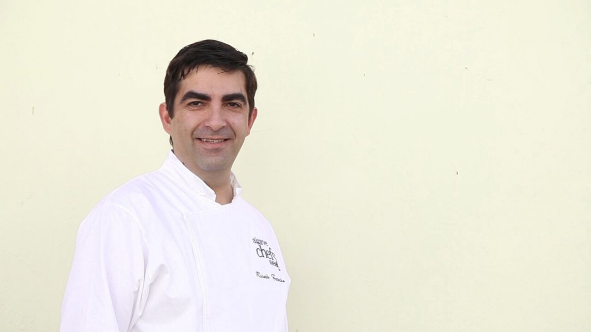 Ricardo Ferreira, un cocinero familiar
