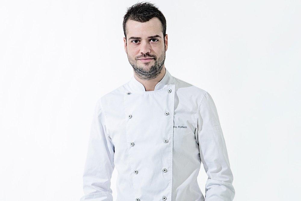 Toni Romero, cocinando en clave rústica
