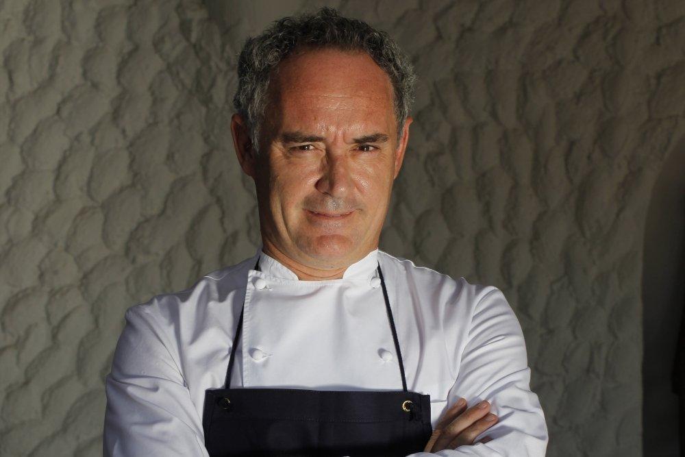 Retrato del chef Ferran Adrià