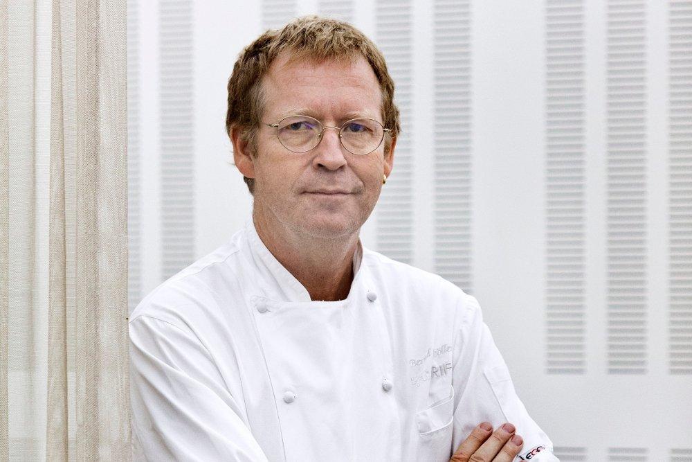 Retrato del cocinero Bernd H. Knöller