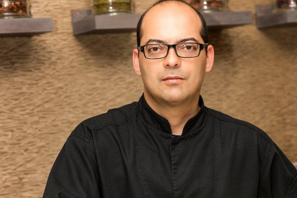 Retrato del cocinero Rafael Sánchez Rustarazo